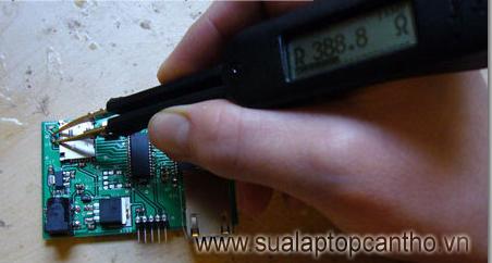 thiết bị đo điện trở